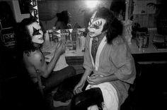 Before the Creem photo shoot 13th May 74.