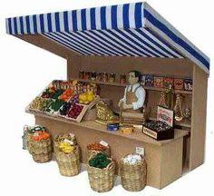 Miniature Market Stall