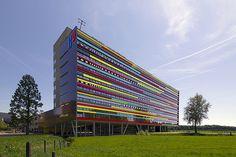 Education Department designed by Ector Hoogstad in De Uithof, Utrecht