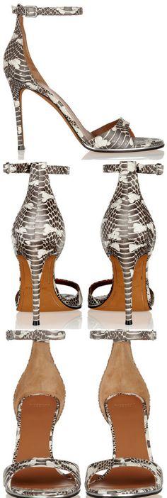 GIVENCHY Sandales en serpent ~ Colette    shoes 1