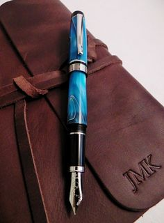 Beautiful swirling hues of Bronze Tiger's Eye or Cool Turquoise makes these pens stand out in any crowd!