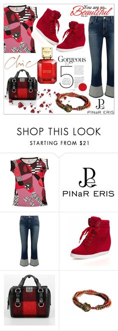 """""""Geometric Prints"""" by diamond-mara ❤ liked on Polyvore featuring Frame, Dsquared2 and Michael Kors"""