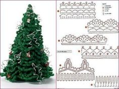 New crochet christmas free hooks ideas Crochet Christmas Decorations, Christmas Tree Pattern, Crochet Decoration, Crochet Christmas Ornaments, Christmas Crochet Patterns, Holiday Crochet, Crochet Snowflakes, Christmas Crafts, Crochet Tree