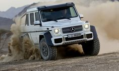 The Mercedes-Benz G63 AMG 6x6