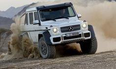 The Mercedes-Benz G63 AMG 6x6