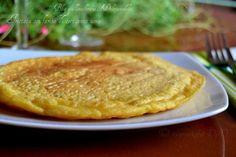 Frittata con farina di ceci senza uova