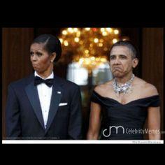 Classic ! #Obama #Michelle #wt