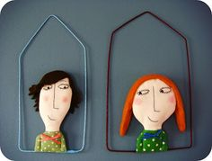 Rose minuscule - how about making a tiny fabric portraits? Fab idea.