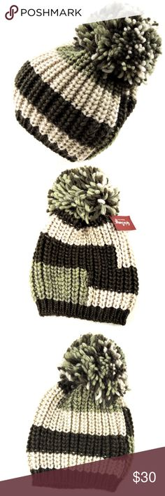 GELSO BIANCO⚜ Multicolored Winter HAT with POMPON Imported 60% Acrylic 15%  Alpaca 15% Wool 10% Viscose Wear a stylish outdoor cap in the cold winter 72921c3d3ff
