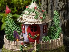 Fairy gardens are all the rage, and with good reason.  Fanciful and enchanting, these tiny tableaus are a charming glimpse into a world of make believe. Whether you're creating a kids' playspace or looking to incorporate a little magic into your home decor, fairy gardens are a wonderful way to imbue your DIY projects with a sense of adventure.