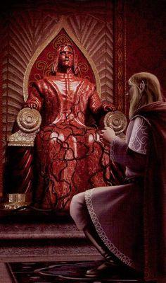 The Emperor - Tarot of the Elves