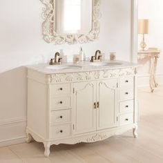 29 Most Splendiferous Bathroom Cool French Style Vanity inside measurements 1800 X 1800 French Bathroom Sink Units - Many of us have been in that Vintage Bathroom Mirrors, Dresser Vanity Bathroom, Bathroom Vanities For Sale, Bathroom Sink Units, French Bathroom, Bathroom Sink Drain, Hand Towels Bathroom, Large Bathrooms, Bathroom Furniture