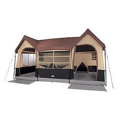 Coolest tent ever! It has 2 closets and will sleep 10 people.  Think of the party possibilities! (Northwest Territory -Big Sky Lodge Tent - 16' x 11')