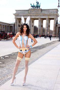 Brandenburg Gate and Bunny