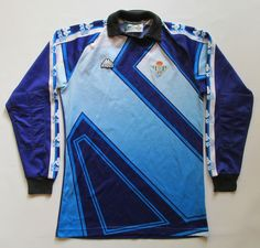 REAL BETIS SPAIN 1995/1996/1997 GOALKEEPER FOOTBALL SHIRT CAMISETA KAPPA SIZE S