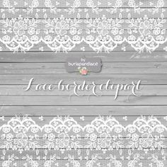 Lace border wood clipart ~ Illustrations on Creative Market
