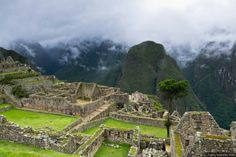 lost city in Peru