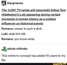I'm not a fan of Marvel (I don't hate it I just never got into it) but I know enough about Loki to know this would be epic and hilarious Funny Marvel Memes, Dc Memes, Avengers Memes, Marvel Jokes, The Avengers, Loki Tv, Marvel Dc Comics, Marvel Avengers, Fandoms