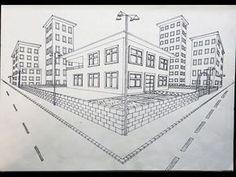 İki Noktada Kaçışlı Dış Mekan Tasarımı - YouTube