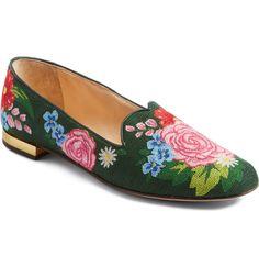 3119cb558583 Charlotte Olympia Rose Garden Loafer (Women)