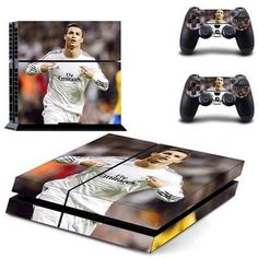 Football Kids Sticker For Sony PS4 Skin Controller For Play Station 4 Game Accessories