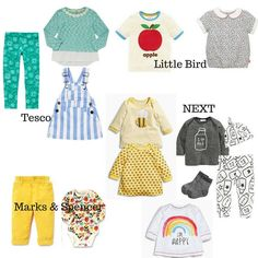 Spring Baby Fashion Wishlist