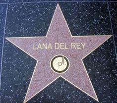 Lana Del Rey Songs, Lana Del Ray, Hollywood Star, Hollywood Walk Of Fame, Hollywood California, Elizabeth Woolridge Grant, Elizabeth Grant, Born To Die, Light Of My Life