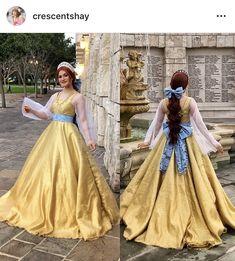 Anastasia Costume, Anastasia Movie, Disney Princess Fashion, Disney Style, Amazing Cosplay, Best Cosplay, Anastacia Disney, Dress With Bow, Dress Up