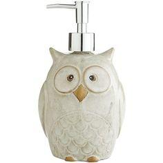 Pier 1 Imports Owl Soap Dispenser
