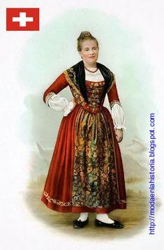 HISTORIA DE LA MODA - FASHION HISTORY : Trajes Típicos del Mundo - World costumes EUROPA Traditional Outfits, Barbie, Product Launch, Costumes, Folklore, Germany, Memories, Foods, Vintage