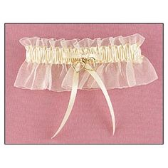 ivory satin and chiffon ruffle garter with two gold tone heart charms is a beautiful wedding accessory Gold Wedding Theme, Wedding Themes, Diy Wedding, Wedding Stuff, Vintage Accessories, Bridal Accessories, Bride Garter, Satin Bows, Ivory