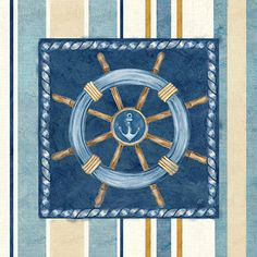 RB7827CC <br> Nautical Stripe IV <br> 12x12