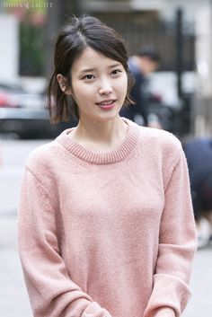 Moonlight iu short hair, short hair styles, iu fashion, korean fashion, oh my Iu Short Hair, Short Hair Styles, Iu Fashion, Korean Fashion, Celebrity List, Without Makeup, Perfect Image, Queen, Korean Beauty