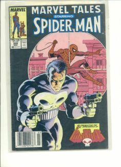 MARVEL TALES SPIDER MAN #209 The PUNISHER RE-PRESENTATION 1st Appearance