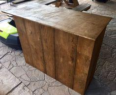 DIY Folding Craft Fair Checkout Stand