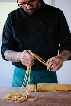 - homemade pasta -