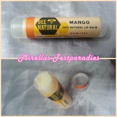 Bee Natural – Lippenbalsam Mango aus der Green Box 2014.