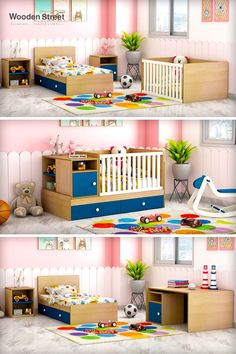 Give a refreshing and enticing look to your child's room with this stylish, durable, and space-saving with this Haven Multi-Functional Crib. This Haven Multi-Functional Crib is designed in a way that it gives a gaze of a crib.   #furniturebondedwithlove #bed #bunkbed #bunkbeds #bunkbedforkids #bunkbeddesign #newfurniture #kids #bedroomideas #smallspacedesign #kidsbedroom #kidsinteriors