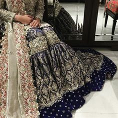 South Asian Bridal and Formal Look Book. Pakistani Bridal Couture, Pakistani Wedding Dresses, Pakistani Outfits, Indian Dresses, Indian Outfits, Shadi Dresses, Ali Xeeshan, Dulhan Dress, Pakistan Fashion
