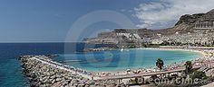 Playa des Amadores Editorial Stock Photo