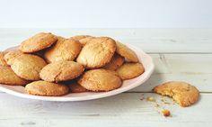 Thomasina Miers' orange blossom macaroons: 'Deliciously crunchy and gooey. Mushroom Stir Fry, Tofu Stir Fry, Macaron Recipe, Tofu Recipes, Macaroons, Pretzel Bites, Orange Blossom, Biscuits, Fries
