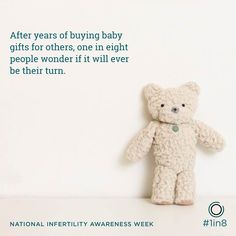 #1in8 couples are on the fertility journey. Will you support them? #niaw http://attainfertility.com/infertilityawareness/