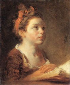 Page: A Young Scholar  Artist: Jean-Honore Fragonard  Start Date: c.1775  Completion Date:1778  Style: Rococo  Genre: portrait  Technique: oil  Material: canvas  Dimensions: 37.7 x 45.3 cm  Gallery: Wallace Collection
