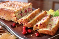 Mom's Cranberry Nut Bread #Thanksgiving