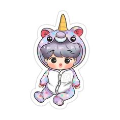 Decorate laptops, Hydro Flasks, cars and more with removable kiss-cut, vinyl decal stickers. Glossy, matte, and transparent options in various sizes. Super durable and water-resistant. Easy Cartoon Drawings, Bts Drawings, Disney Drawings, Bts Chibi, Pop Stickers, Park Jimin Cute, Coloring Pages For Boys, Dibujos Cute, Aesthetic Stickers