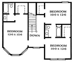 47 best house and blueprints images on pinterest home ideas upstairs queen anne victorian blueprint malvernweather Gallery