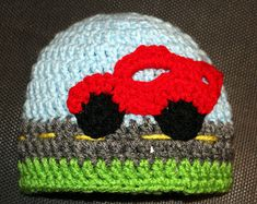 Crochet Car Hat