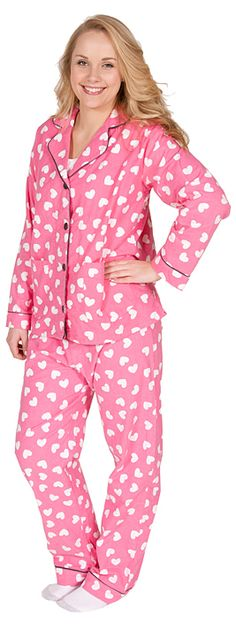 PJ Salvage Heart in Pink