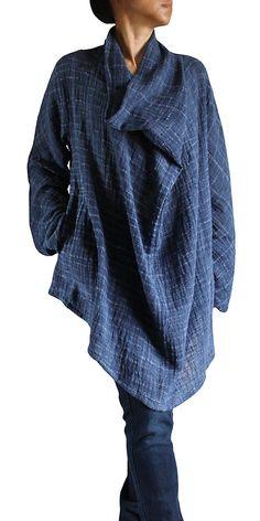 ターポン手織綿のデザインチュニック BFS-097-04 もっと見る