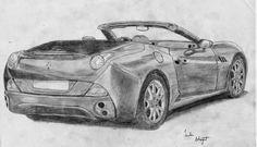 Sachin Bhagat Art: Ferrari Sketch